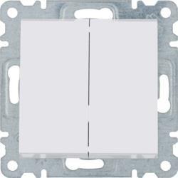 Serienschalter weiß 250V 10AX Lumina Hager WL0040