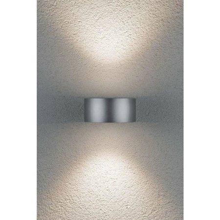 Strahler CONE Wandleuchte LED 2x6W 4000K 30-90° - Silber/Anthrazit Paulmann PL79679