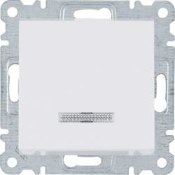 Taster 1-polig, weiß WL0210 Lumina Hager