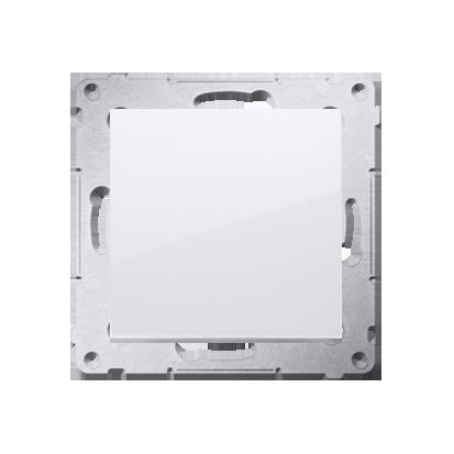 Taster Wechsler (Modul) 1 polig Steckklemmen Weiß Simon 54 Premium Kontakt Simon DP1.01/11