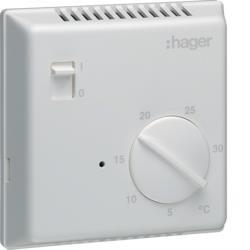 Thermostat 1Z / 8A, elektronisch EK005 Hager