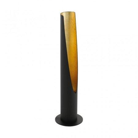 Tischlampe BARBOTTO schwarz gold GU10 39,5cm 5W 400lm 3000K 97583 EGLO
