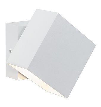 Wandaufbauleuchte, Außen Cybo LED quadratisch weiß ruchomy 2x3W 2700K 213lm IP65 Paulmann