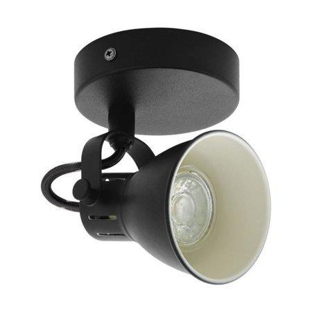Wandleuchte SERAS 2 schwarz GU10-LED 3,3W 3000K 98397 EGLO