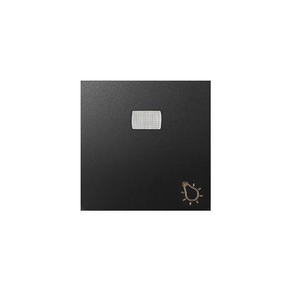 """Wippe 1fach Aufdruck """"Licht"""" für Schalter/ Taster mit LED graphit matt Kontakt Simon 82 82016-38"""