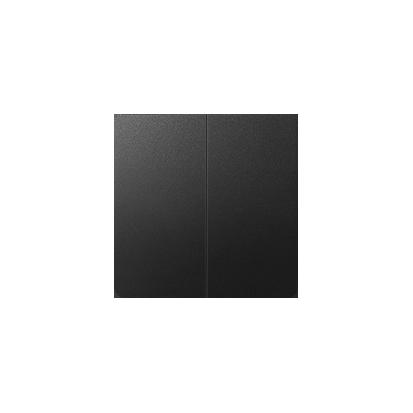 Wippe für Serien- und Doppel-Schalter 2fach graphit matt Kontakt Simon 82  82026-38